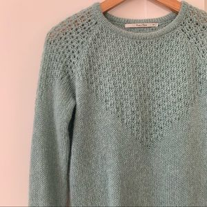 Part Two mohair wool blend sweater knit